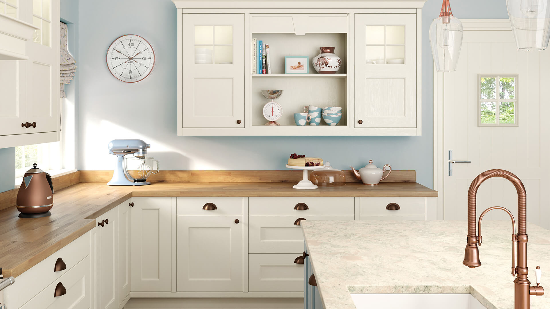 Wakefield Porcelain & Pantry Blue